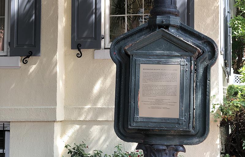 Historical oddities abound in the DC neighborhood Georgetown.