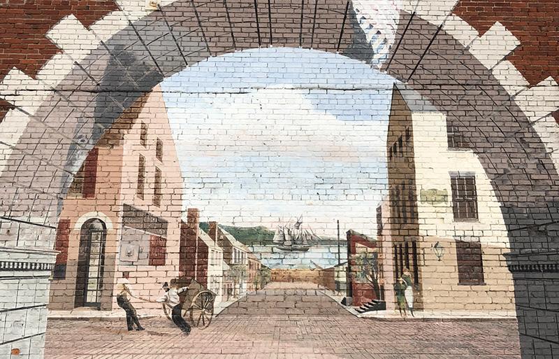 Georgetown mural