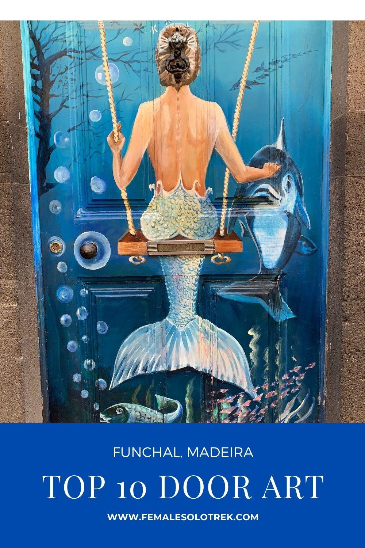 Door art Funchal