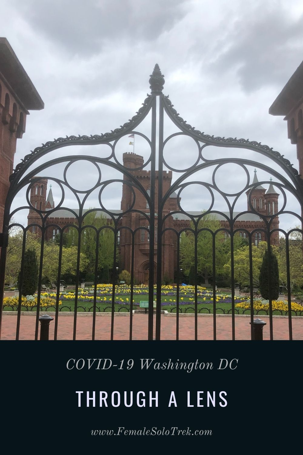 I attempted to capture the desolation of a deserted city through COVID-19 Washington DC Through A Lens.
