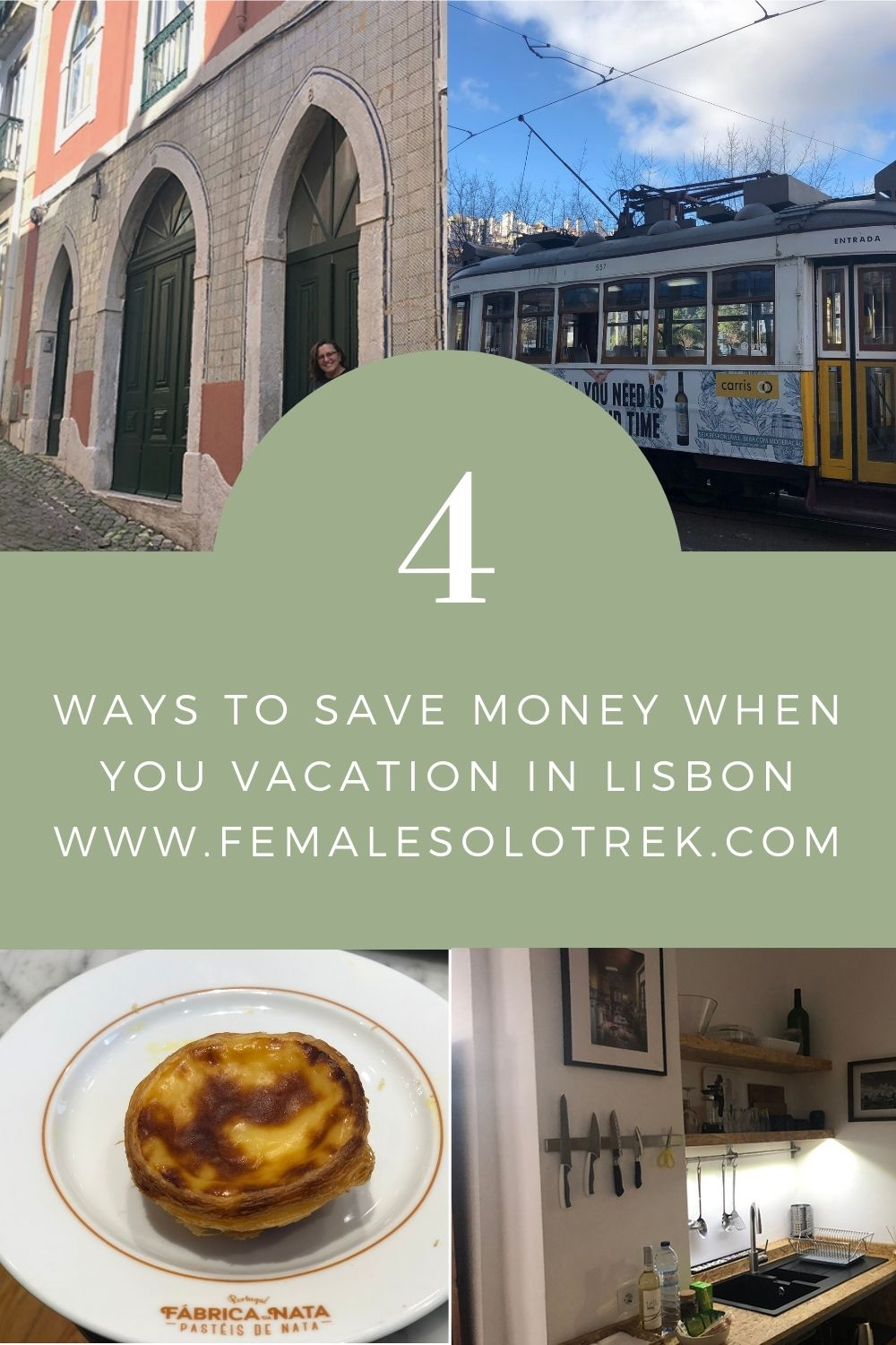 Save money by staying in an AirBnb in Lisbon