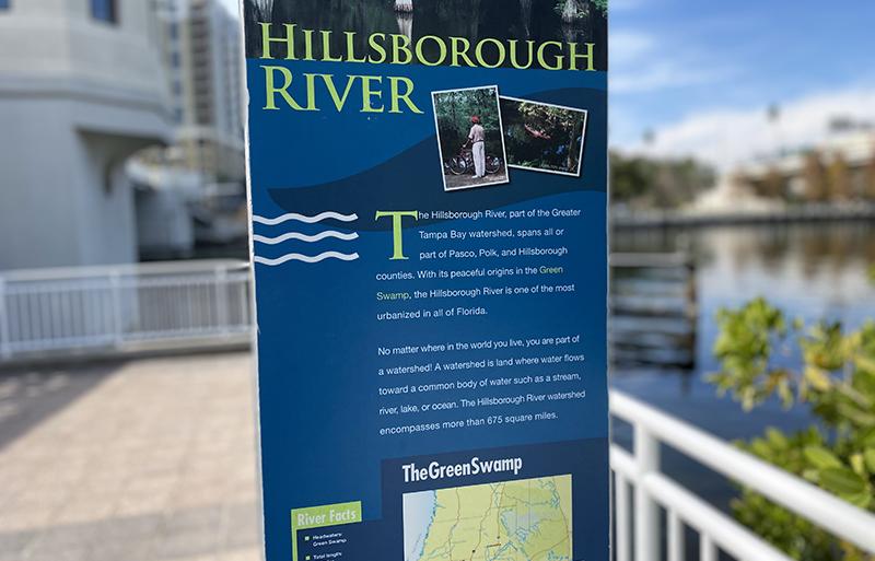 Downtown Riverwalk Signage