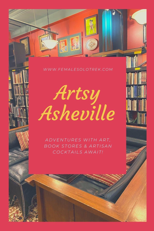 Come enjoy an Artsy Asheville Adventure