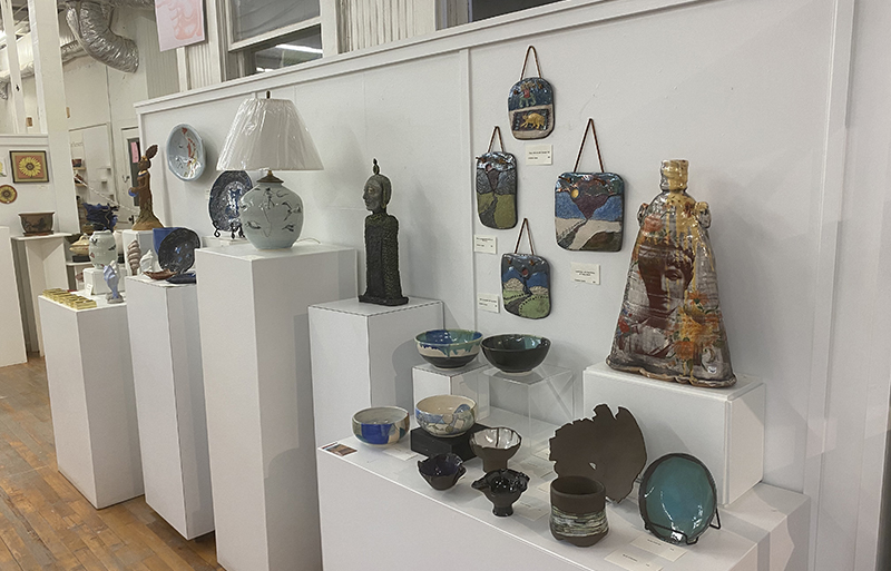 Buy ceramics in Asheville