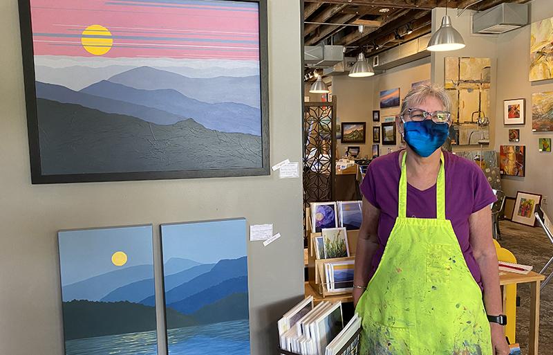 River District artist interview