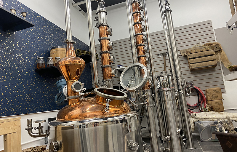 Tour the Cultivated Cocktails Distillery