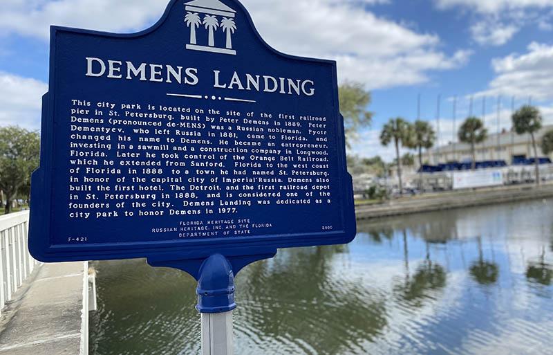 St Pete Florida Demens Landing