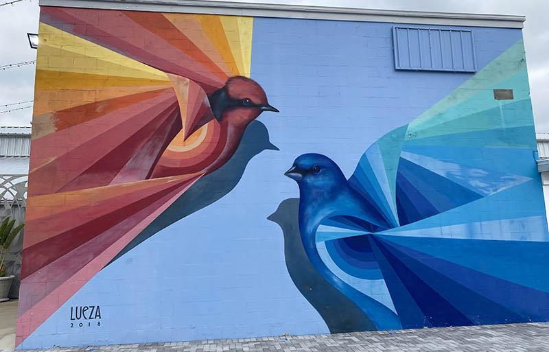 St Pete Florida Lueza mural