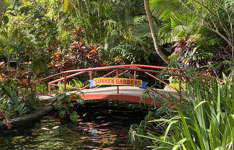 St Pete Florida Sunken Gardens