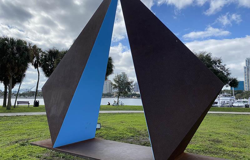 St. Pete Florida sculpture