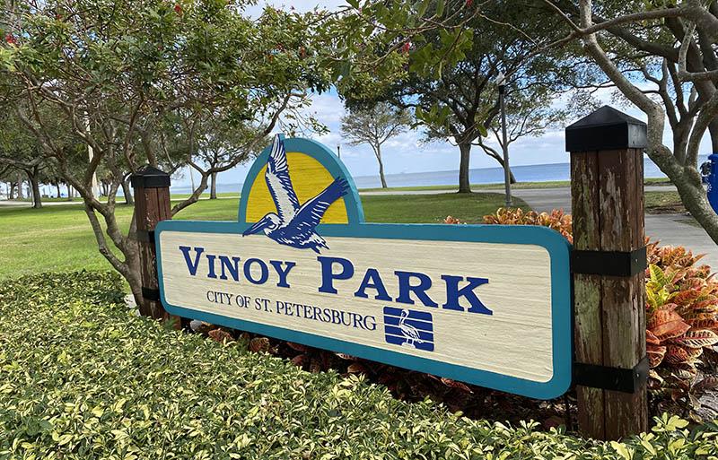 St. Pete Florida Vinroy Park