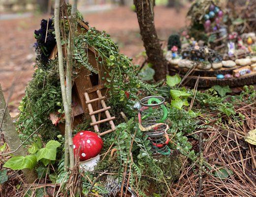 Annmarie Sculpture Garden features a summer fairy festival for kids.