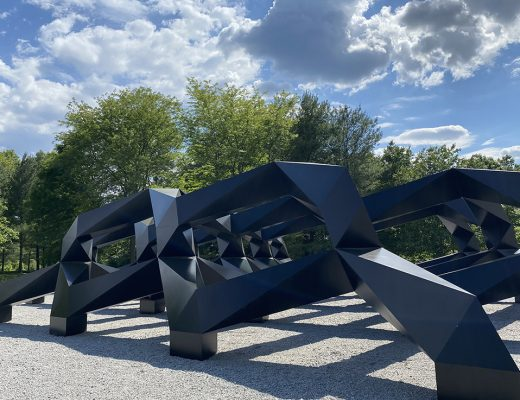 Glenstone seamlessly integrates art, architecture, and landscape.